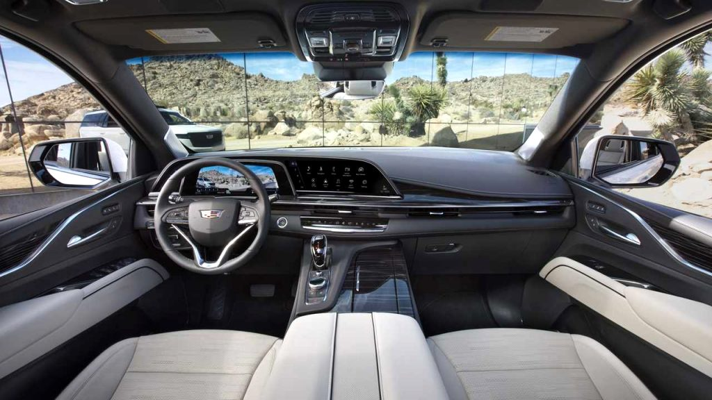 how much is a 2021 cadillac SUV Interior