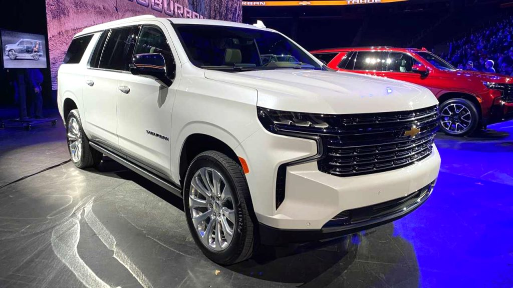 2021 chevrolet tahoe Redesign