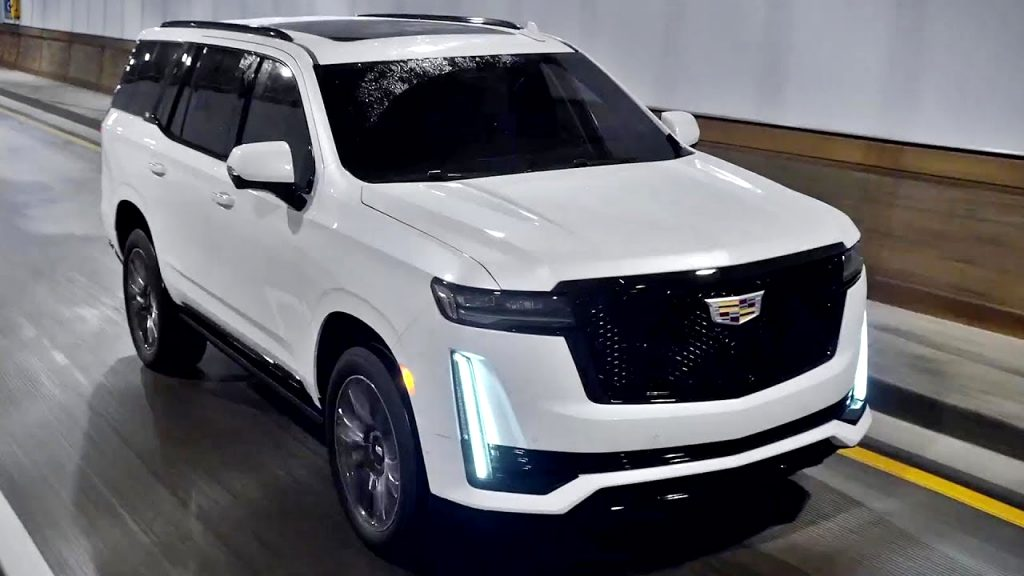 how much is a 2021 cadillac SUV Engine