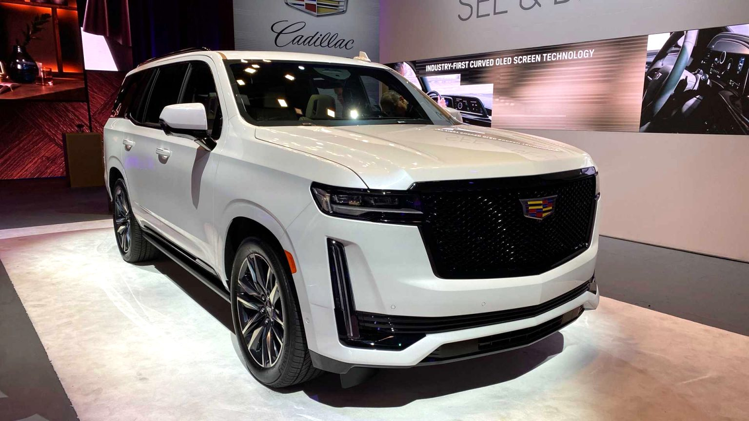 how much is a 2021 cadillac SUV Release
