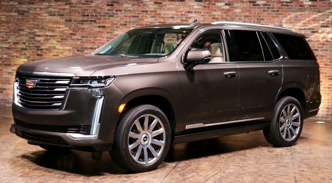 how much is a 2021 cadillac SUV First Drive