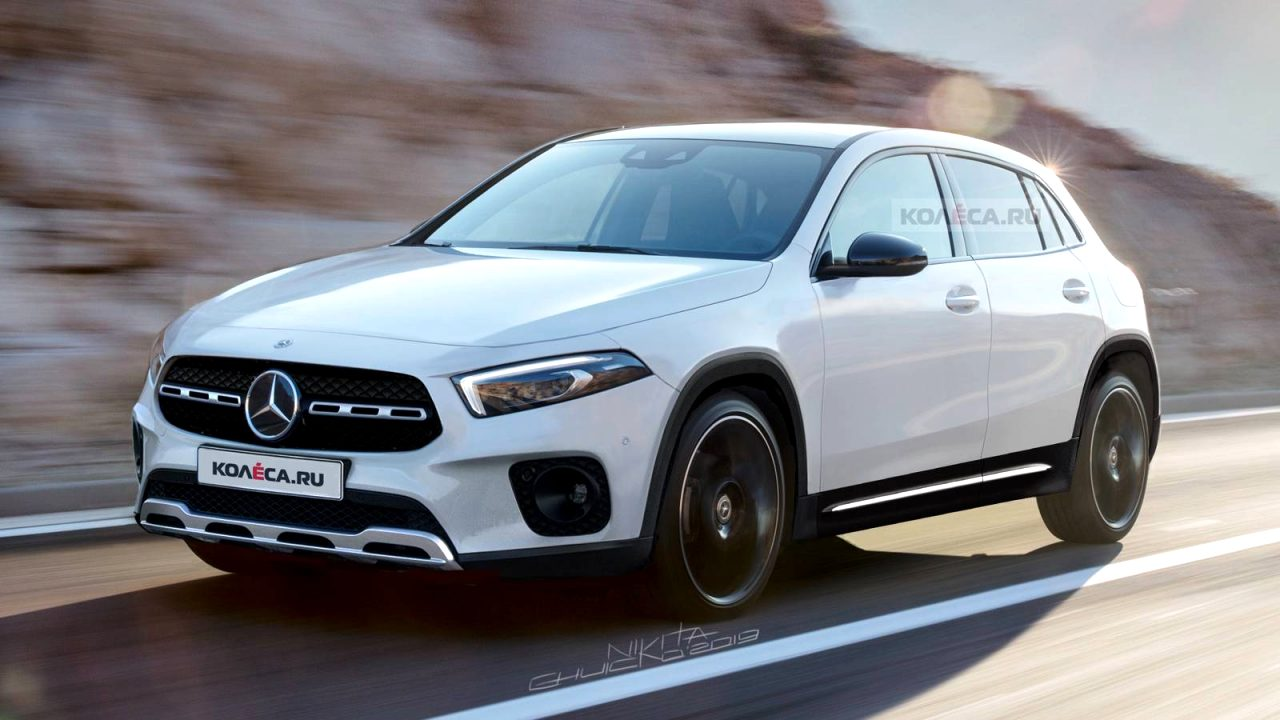 mercedes new gla 2021 Pictures