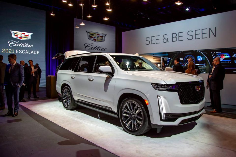 how much is a 2021 cadillac SUV Price and Review