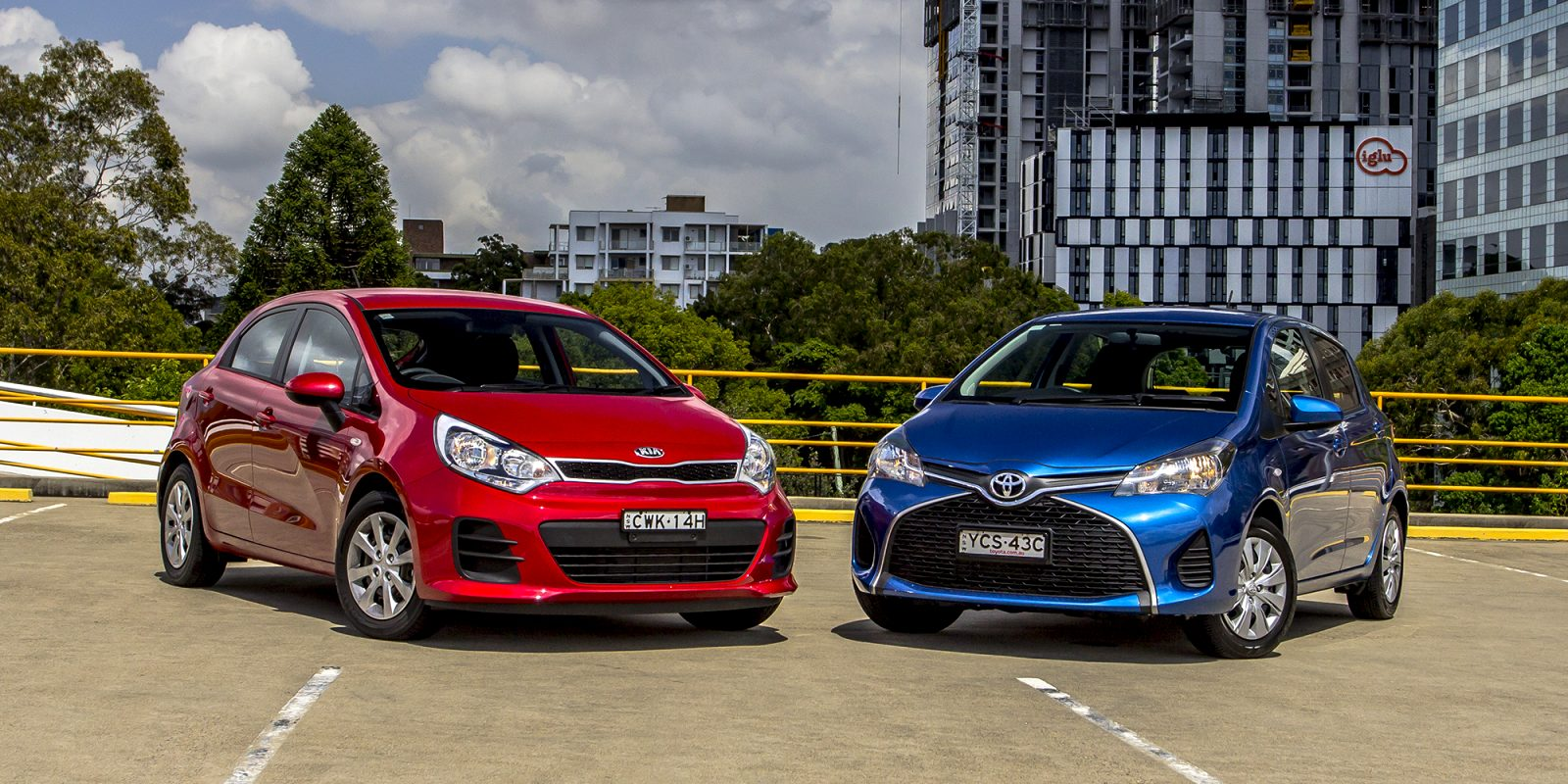 kia rio vs toyota yaris 2021 Exterior and Interior