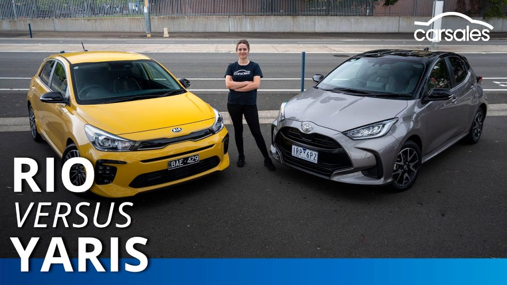 kia rio vs toyota yaris 2021 Spesification