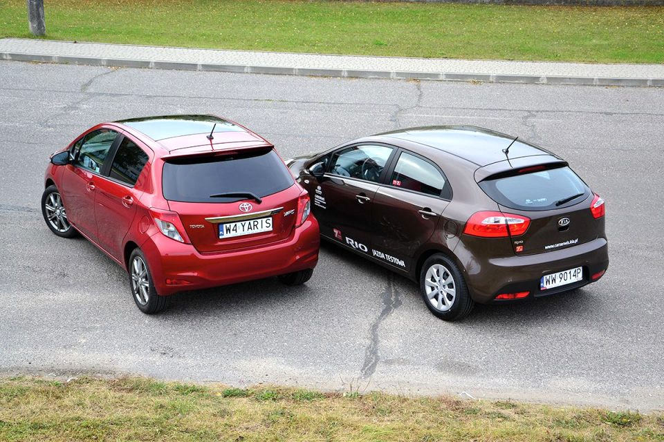kia rio vs toyota yaris 2021 Review