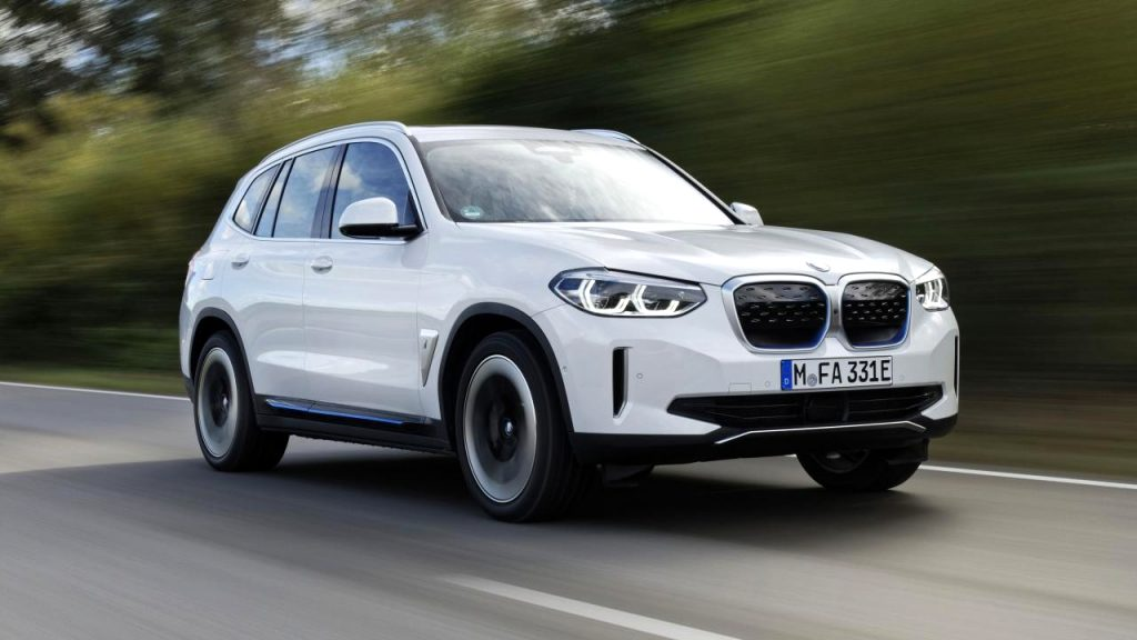 2021 BMW electric SUV Exterior and Interior
