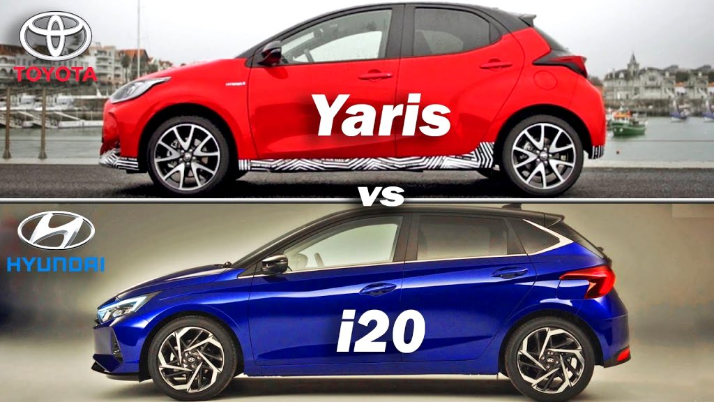 kia rio vs toyota yaris 2021 Price and Review