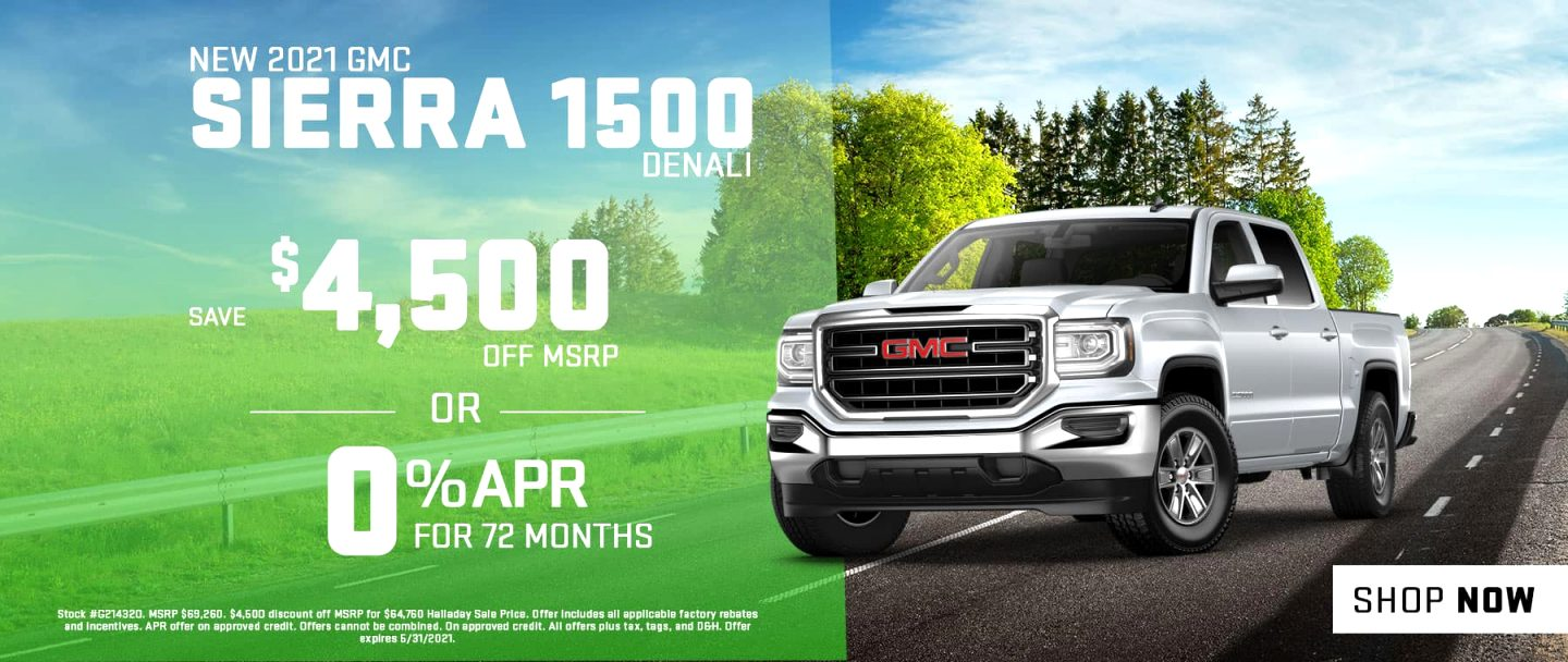 GMC rebates 2021 Price and Release date