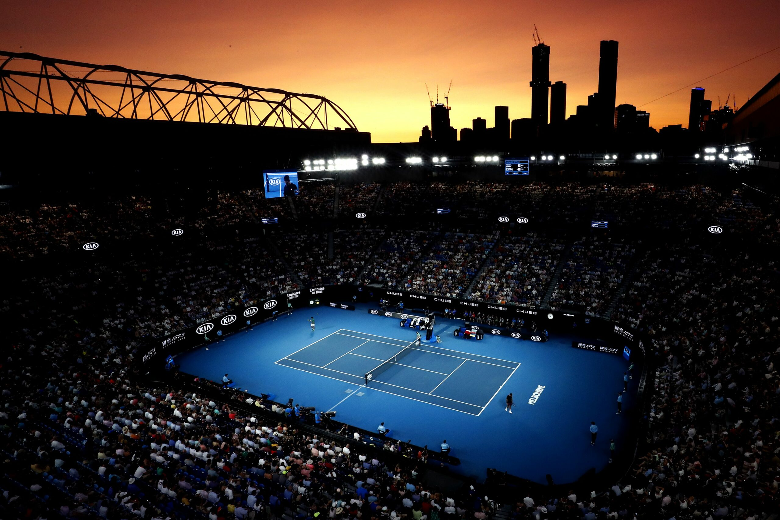 kia tennis competition 2021 Images