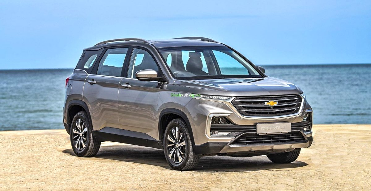 xe chevrolet captiva 2021 First Drive