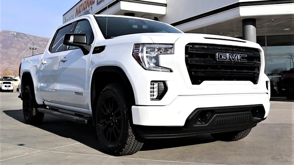 2021 GMC sierra elevation Performance and New Engine