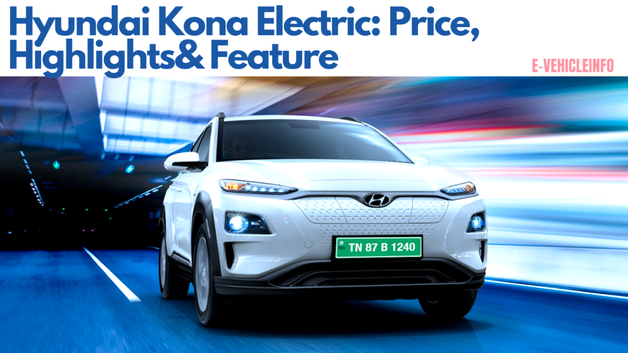 hyundai kona electric price in india 2021 Price and Release date
