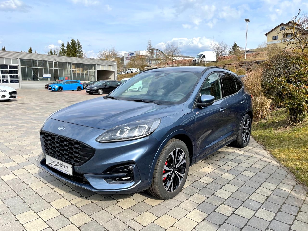 2021 ford kuga st line Configurations