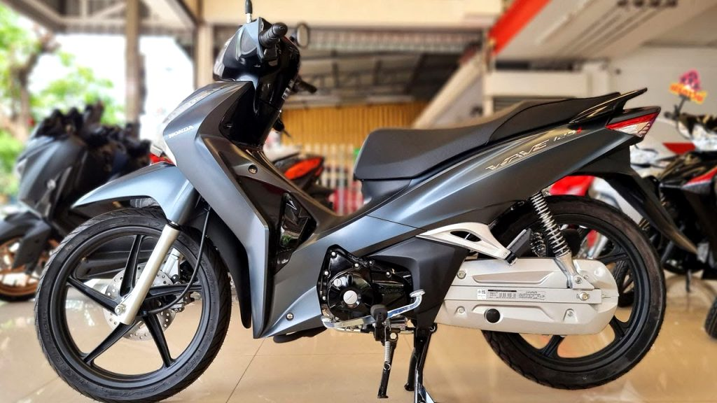 2021 honda wave 125i Pictures