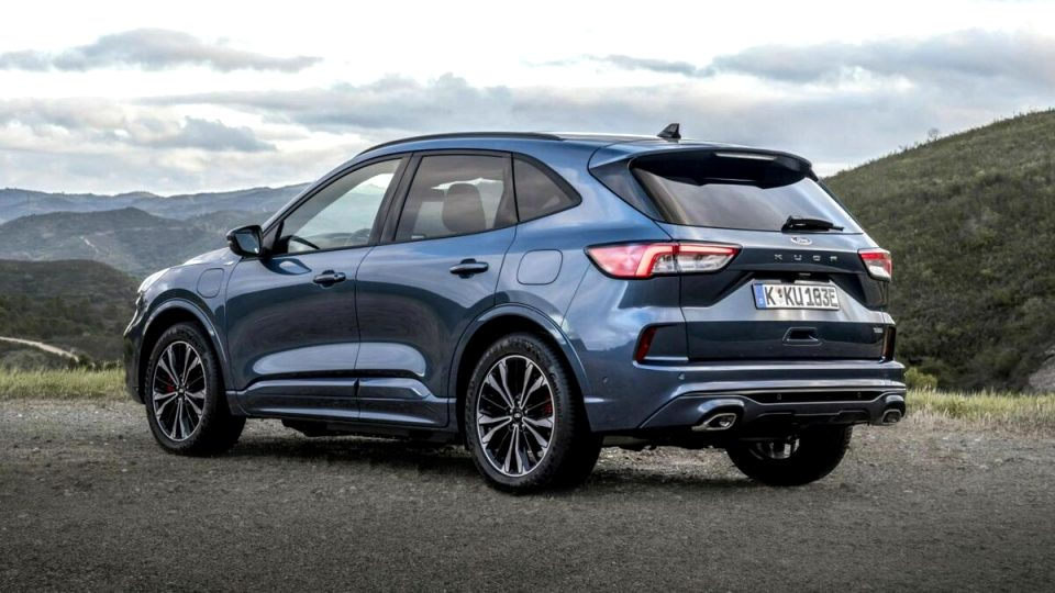 2021 ford kuga st line Exterior and Interior