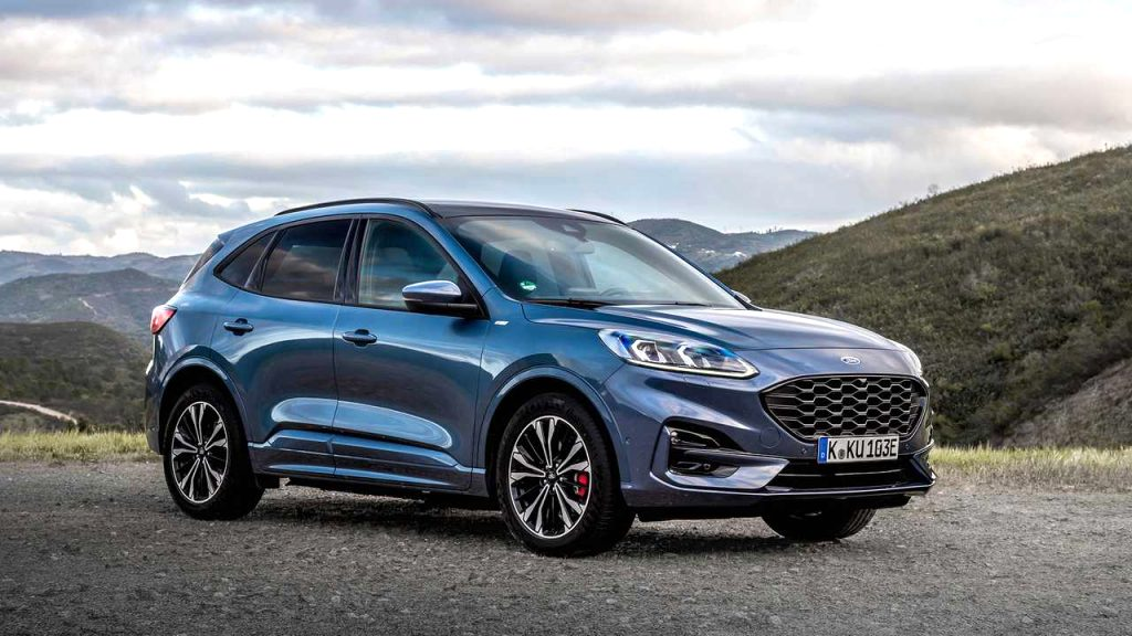 2021 ford kuga st line Release
